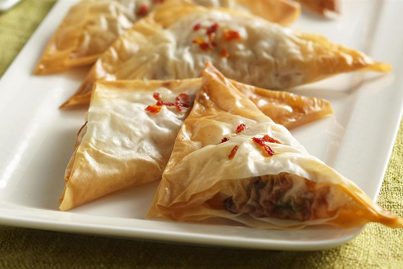Sweet Savory Chicken Puffs