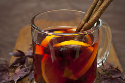 Mulled Cranberry Wine