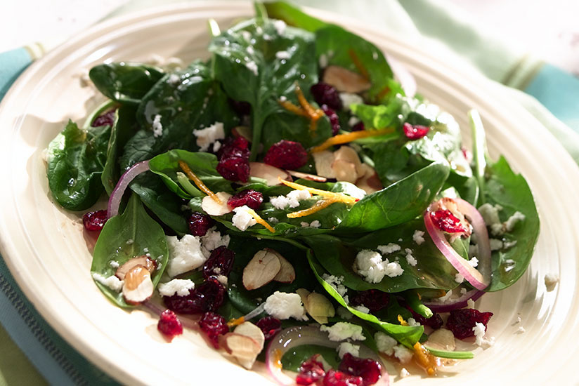 Effortless Spinach Salad