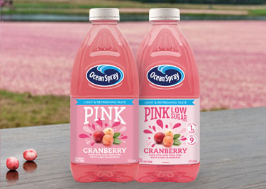 Pink Fruit Drinks