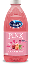 Pink Cranberry Fruit Drink